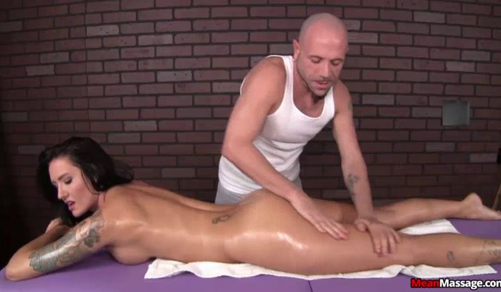 Handjob - Forced To Cum After Massage Hardcore Porn